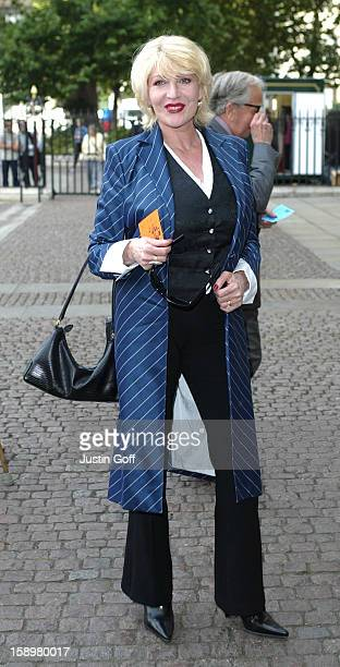 Faith Brown Attends A Memorial Service For Dame Thora Hird At London'S Westminster Abbey