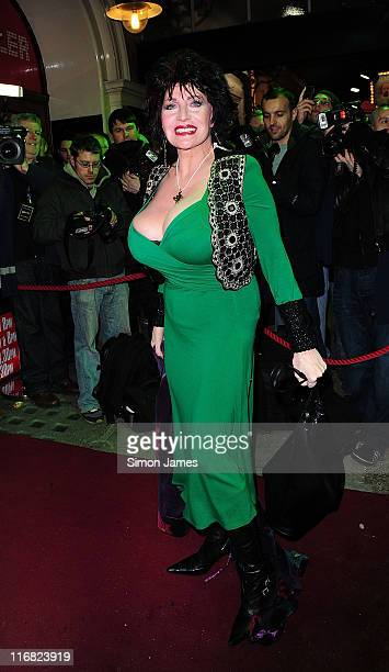 Faith Brown attends the opening night of the Michael Jackson musical 'Thriller Live' at Lyric Theatre on January 21 2009 in London England