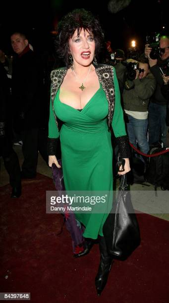 Faith Brown attends the Thriller Live Press Night at the Lyric Theatre on January 21 2009 in London England