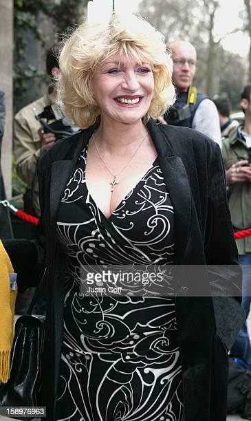 Faith Brown Attends The Tric Awards At London'S Grosvenor House