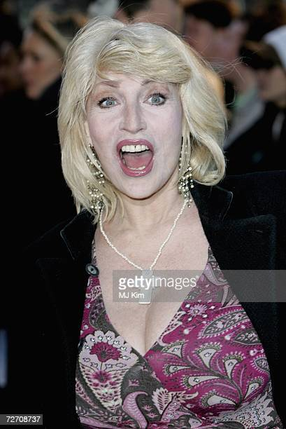 Faith Brown attends the World Premiere of 'Miss Potter' held at the Odeon Leicester Square on December 3 2006 in London England