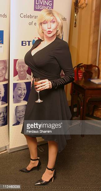 Faith Brown during Help The Aged Living Legend Award at Dorchester Hotel London in London, Great Britain.