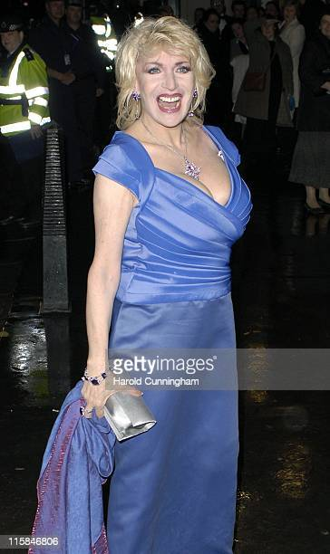 Faith Brown during The Royal Variety Performance Outside Arrivals in London Great Britain