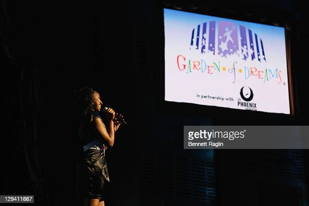 Faith Brown the 2011 Garden of Dreams Talent Show at Radio City Music Hall on April 11 2011 in New York City