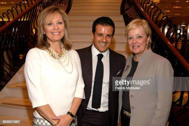 Faith Daniels Amedeo Scognamiglio and Mary Sprig attend FARAONE MENNELLA at Richards of Greenwich for DebRA Bracelet Unveiling at Richards on October...