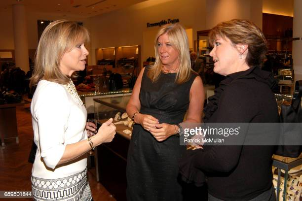 Faith Daniels Marie Griffin and Bunky Griffin attend FARAONE MENNELLA at Richards of Greenwich for DebRA Bracelet Unveiling at Richards on October 17...