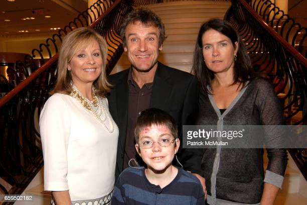 Faith Daniels Mats Wilander Shane DiGiovanna and Sonya Wilander attend FARAONE MENNELLA at Richards of Greenwich for DebRA Bracelet Unveiling at...