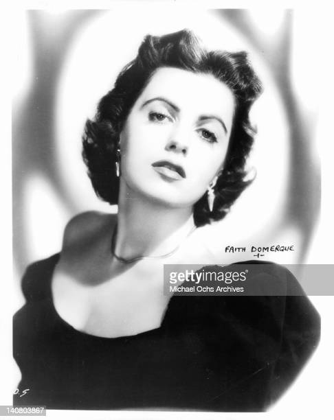 Faith Domergue circa 1950
