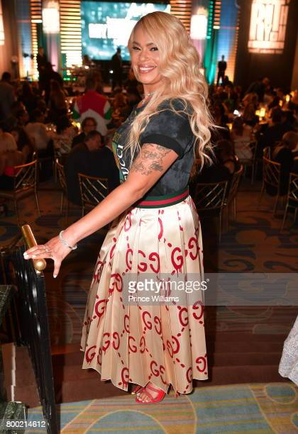 Faith Evans attends ASCAP 2017 Rhythm Soul Music Awards at the Beverly Wilshire Four Seasons Hotel on June 22 2017 in Beverly Hills California