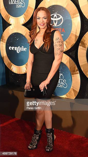 Faith Evans attends the 2014 Soul Train Music Awards at the Orleans Arena on November 7 2014 in Las Vegas Nevada