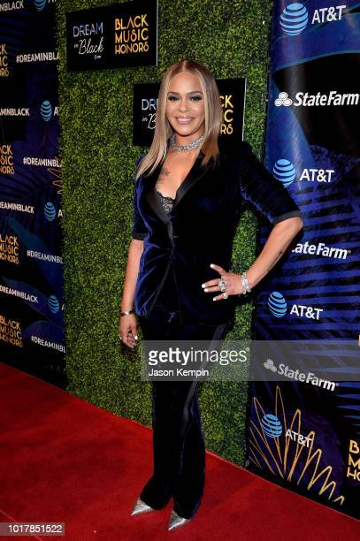 Faith Evans attends the 2018 Black Music Honors at Tennessee Performing Arts Center on August 16 2018 in Nashville Tennessee