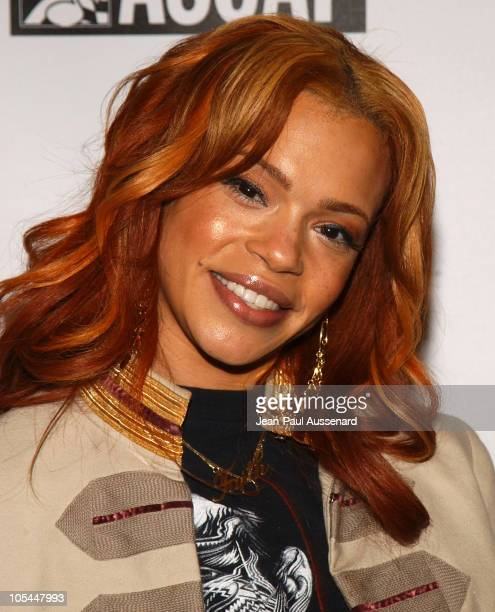 Faith Evans during 3rd Annual Artist Empowerment Coalition PreGRAMMY Brunch Arrivals at Beverly Hilton in Beverly Hills California United States