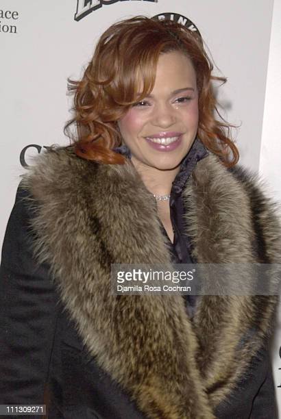 Faith Evans during BIG Night Out Gala at Metropolitan Pavilion in New York City New York United States