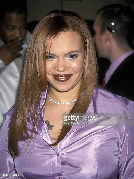 Faith Evans during Clive Davis PreGrammy Party at Beverly Hills Hotel in Beverly Hills California United States