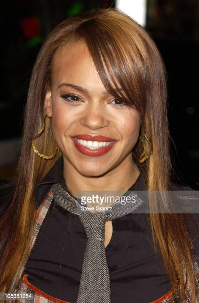 Faith Evans during Coach Carter Los Angeles Premiere Arrivals at Grauman's Chinese Theatre in Hollywood California United States