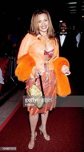Faith Evans during Essence Awards 2000 to be aired on Fox TV on May 25 2000 at Radio City Music Hall in New York City New York United States