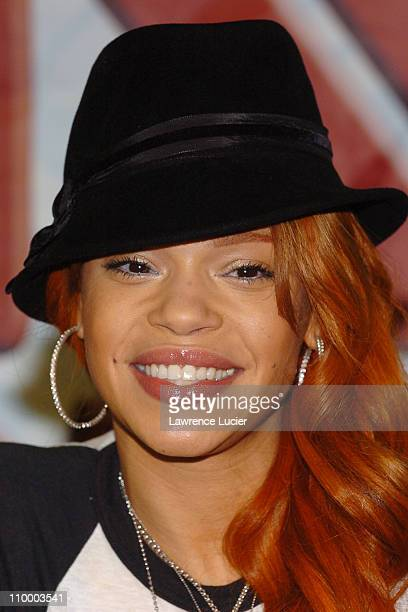 Faith Evans during Faith Evans Signs Her Album The First Lady at JR Park Row in New York City at JR Park Row in New York City New York United States