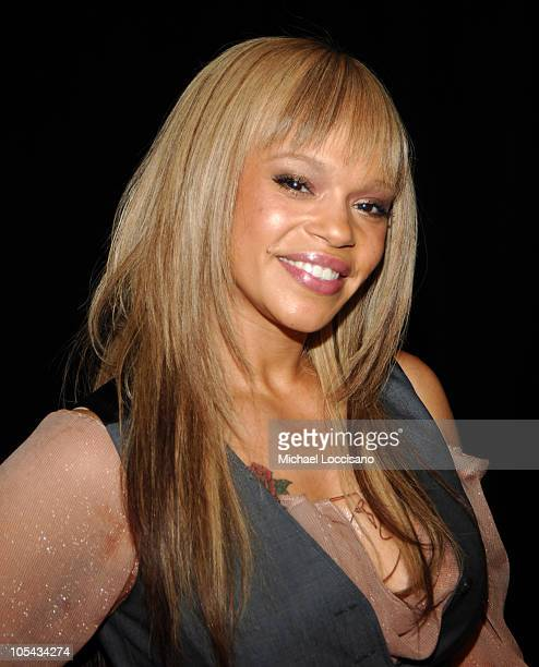 Faith Evans during The 36th Annual Songwriters Hall of Fame Awards Induction at Marriott Marquis Hotel in New York City, New York, United States.