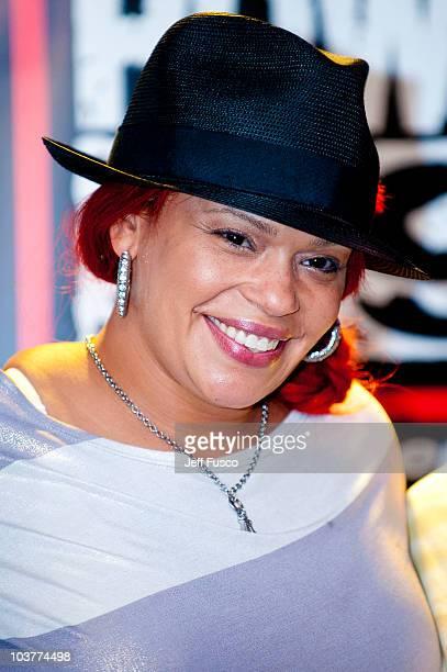 Faith Evans performs at the Power 99/WDAS FM Performance Studio on September 1 2010 in Philadelphia Pennsylvania