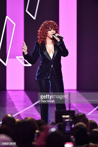 Faith Evans performs onstage during the VH1 Hip Hop Honors All Hail The Queens at David Geffen Hall on July 11 2016 in New York City