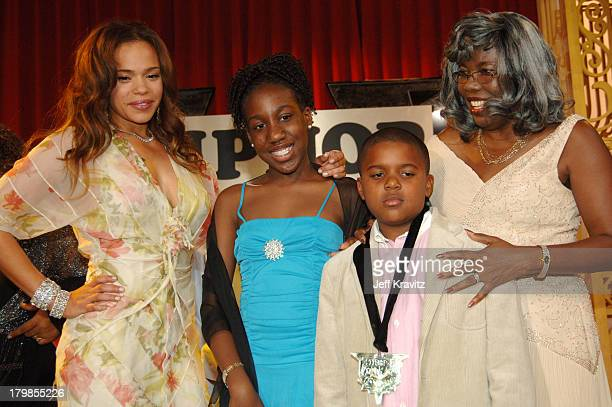 Faith Evans Voletta Wallace and Christopher Wallace Jr