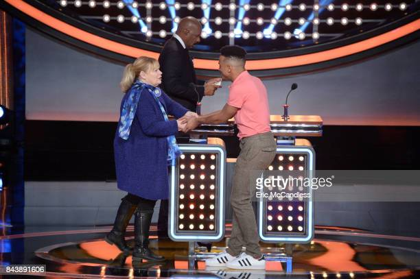 """Faith Evans vs Ross Mathews and USA Gymnastics vs USA Swimming"""" - The celebrity teams competing to win cash for their charities feature the families..."""