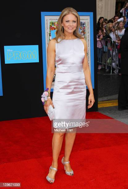 Faith Ford arrives at the Los Angeles premiere of Disney's 'PROM' held at the El Capitan Theatre on April 21 2011 in Hollywood California