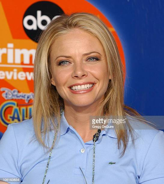 Faith Ford during ABC Primetime Preview Weekend at Disney's California Adventure in Anaheim California United States
