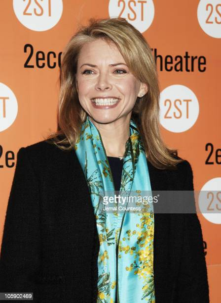 Faith Ford during 'The Little Dog Laughed' Opening Night Arrivals at Second Stage Theatre in New York City New York United States