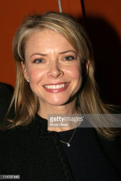 Faith Ford **EXCLUSIVE COVERAGE** during 'The Little Dog Laughed' Opening Night at Second Stage Theatre in New York New York United States