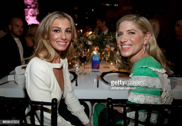 Faith Hill and honoree Petra Flannery at the 2017 InStyle Awards presented in partnership with FIJI WaterAssignment at The Getty Center on October 23...