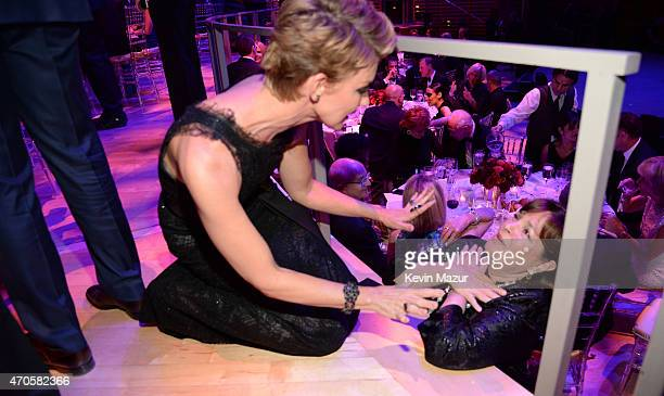 Faith Hill and Ina Garten attend TIME 100 Gala TIME's 100 Most Influential People In The World at Jazz at Lincoln Center on April 21 2015 in New York...