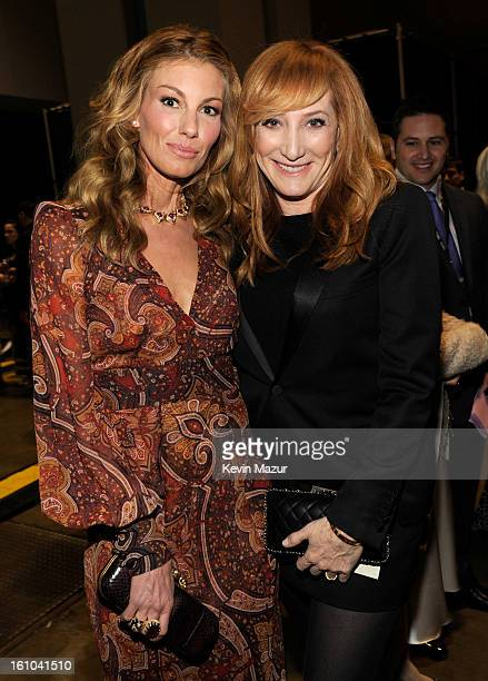 Faith Hill and Patti Scialfa attend MusiCares Person Of The Year Honoring Bruce Springsteen at Los Angeles Convention Center on February 8, 2013 in...
