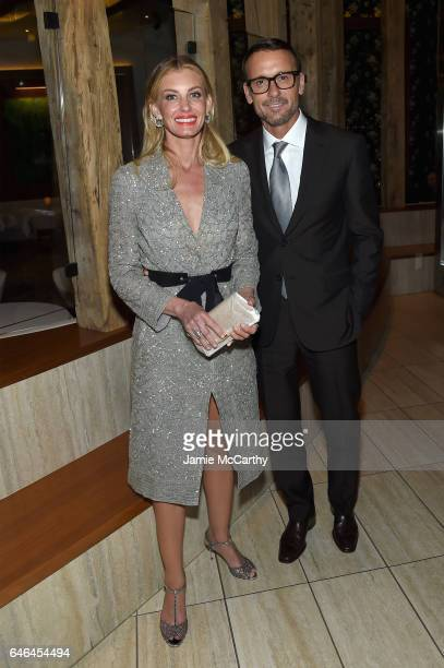 Faith Hill and Tim McGraw attend the after party for Lionsgate Hosts the World Premiere of 'The Shack' at Gabriel Kreuther on February 28 2017 in New...