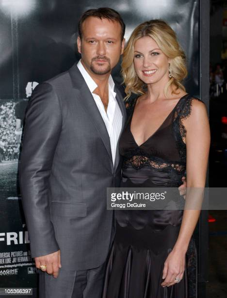 """Faith Hill and Tim McGraw during """"Friday Night Lights"""" Los Angeles Premiere - Arrivals at Grauman's Chinese Theatre in Hollywood, California, United..."""