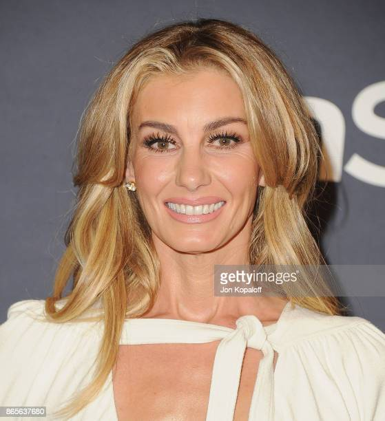 Faith Hill arrives at the 3rd Annual InStyle Awards at The Getty Center on October 23 2017 in Los Angeles California