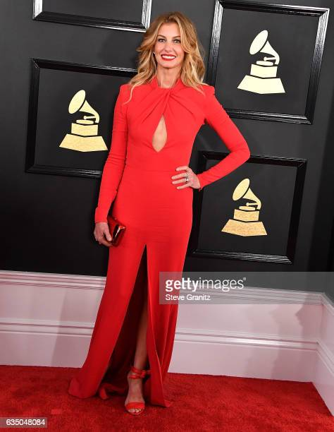 Faith Hill arrives at the 59th GRAMMY Awards on February 12 2017 in Los Angeles California
