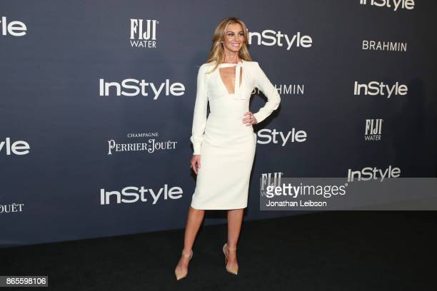 Faith Hill at the 2017 InStyle Awards presented in partnership with FIJI WaterAssignment at The Getty Center on October 23 2017 in Los Angeles...