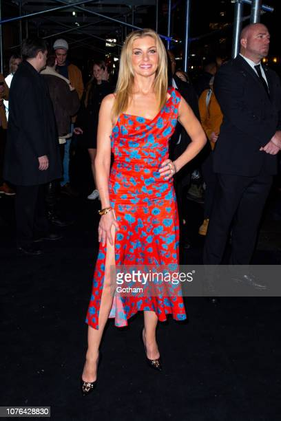 Faith Hill attends the Versace PreFall 2019 Runway Show at the American Stock Exchange in the Financial District on December 02 2018 in New York City