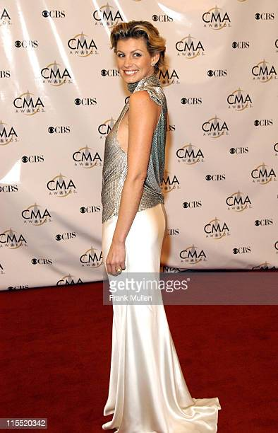 Faith Hill during 37th Annual CMA Awards Arrivals at The Grand Ole Opry in Nashville TN United States