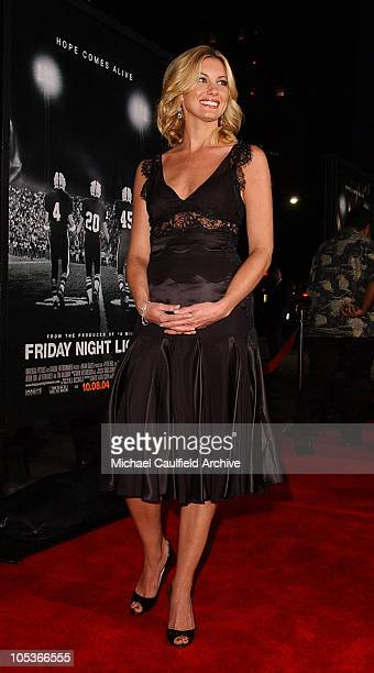 """Faith Hill during """"Friday Night Lights"""" Los Angeles Premiere - Red Carpet at Grauman's Chinese Theatre in Los Angeles, California, United States."""