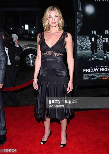 """Faith Hill during """"Friday Night Lights"""" - World Premiere at Grauman's Chinese Theatre in Hollywood, California, United States."""