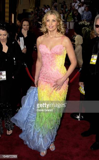 Faith Hill during The 74th Annual Academy Awards Arrivals at Kodak Theater in Hollywood California United States