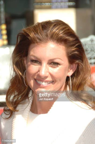 Faith Hill during Tim McGraw Honored with a Star on the Hollywood Walk of Fame at 6901 Hollywood Blvd in front of the Virgin Megastore in Hollywood...