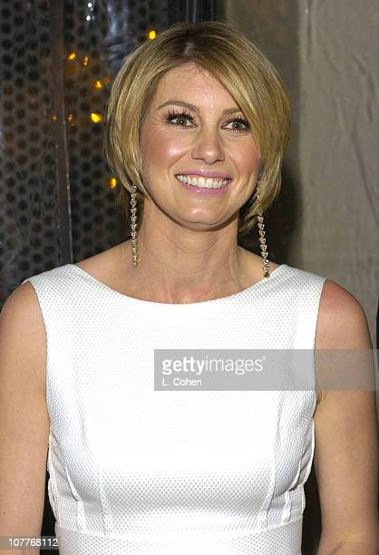 Faith Hill during Warner Entertainment 2004 Grammy Party at Kitano Japanese Restaurant in Los Angeles CA United States