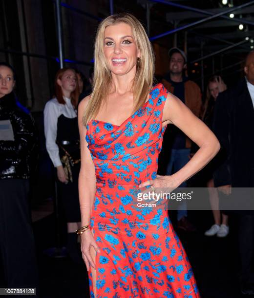 Faith Hill seen outside the Versace Pre-Fall 2019 Collection on December 2, 2018 in New York City.
