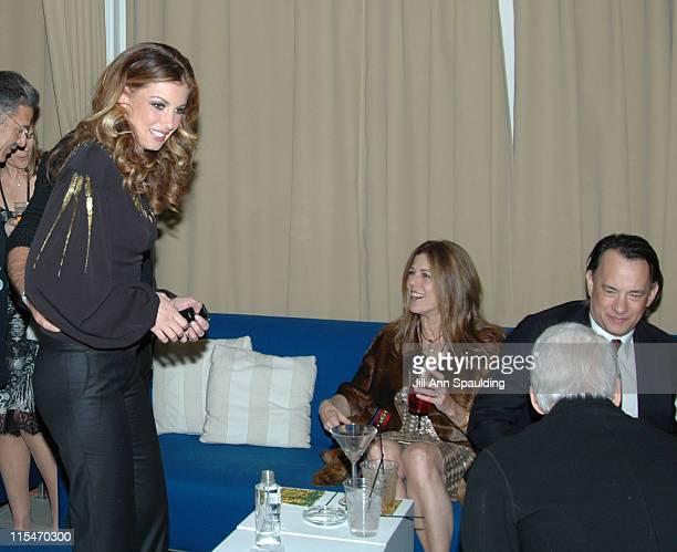 Faith Hill Tim McGraw Rita Wilson Tom Hanks and Steve Martin