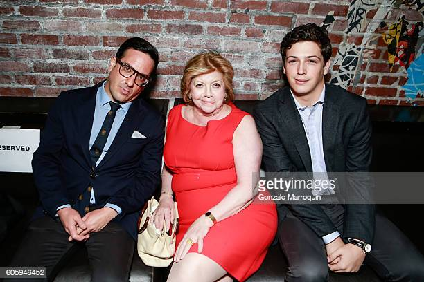 Faith Hope Consolo and Corey Shuster Tahor Group's #TLVRUNWAYNYC at TAO Downtown on September 15 2016 in New York City