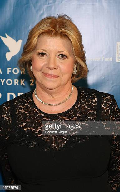 Faith Hope Consolo attends Cinema for Peace New York 2012 at The Harvard Club on September 25 2012 in New York City