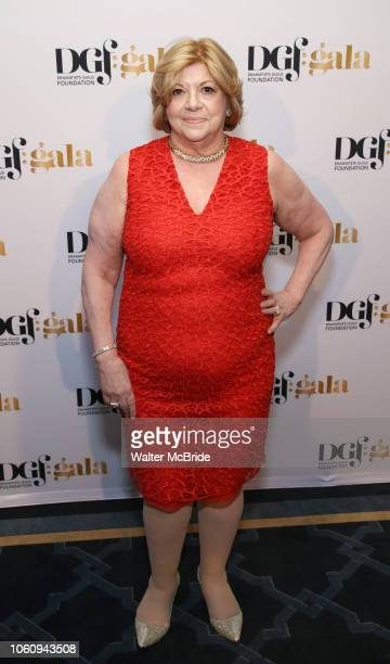 Faith Hope Consolo attends the cocktail party for the Dramatists Guild Foundation 2018 dgf gala at the Manhattan Center Ballroom on November 12 2018...